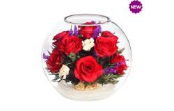 Цветы в стекле Сладкая жизнь