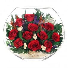 Цветы в стекле От всей души