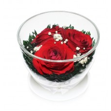 Цветы в стекле Три желания