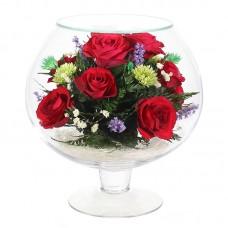 Цветы в стекле Седьмое небо