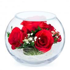 Цветы в стекле Наслаждение