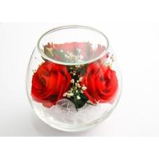 Цветы в стекле Очарование