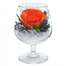 """Цветы в стекле """"На счастье-6"""""""