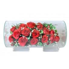 Цветы в стекле Медовый месяц