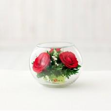 Цветы в стекле Моя радость - 2