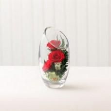 Цветы в стекле Очарование женственности-3