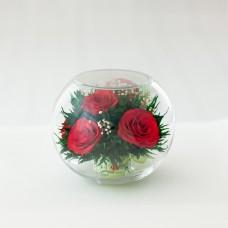 Цветы в стекле Сладкий ноябрь-4
