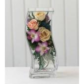 Цветы в стекле Млечный путь-4