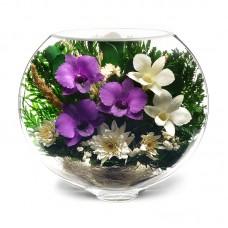 Цветы в стекле Воздушный поцелуй-1