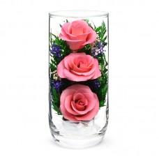 Цветы в стекле Предвкушение-2