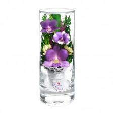 Цветы в стекле Грация-2