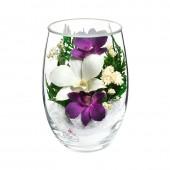 Цветы в стекле Восторг-2