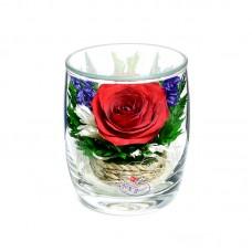 Цветы в стекле Поцелуй