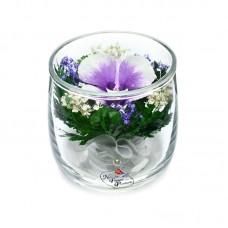 Цветы в стекле Ангелочек
