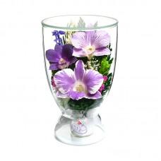 Цветы в стекле Поздравляю-2