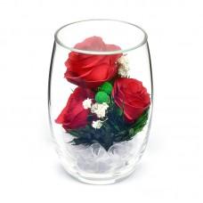Цветы в стекле Восторг