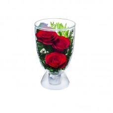 Цветы в стекле Нежность