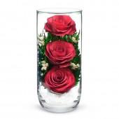 Цветы в стекле Предвкушение