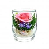 Цветы в стекле Поцелуй-2
