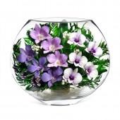 Цветы в стекле Летний вечер-3
