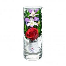 Цветы в стекле Грация