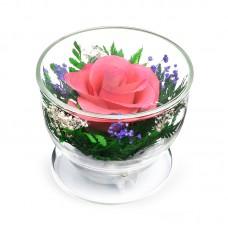 Цветы в стекле C добрым утром