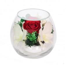 Цветы в стекле Ты прелесть-4