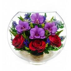 Цветы в стекле Это любовь -4