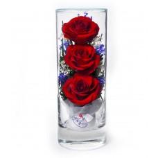 Цветы в стекле Грация-3